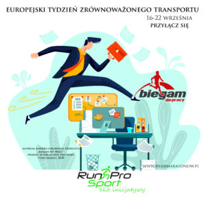 Business - running overcoming obstacles, concept vector cartoon illustration. Businessman in office suit with briefcase in hand runs and jumps over desktop with computer, metaphor about enterprise